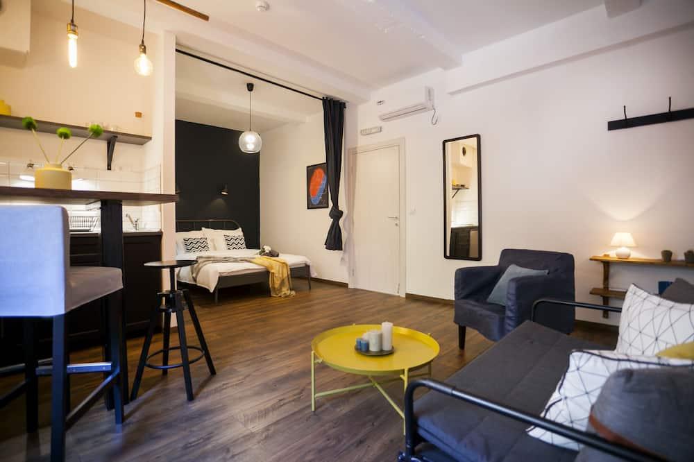 City Studio - Living Area