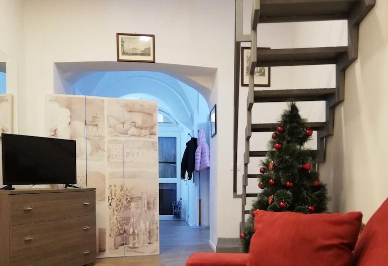 Mazzaro House, Naples, Apartment, Kitchenette, Interior Entrance
