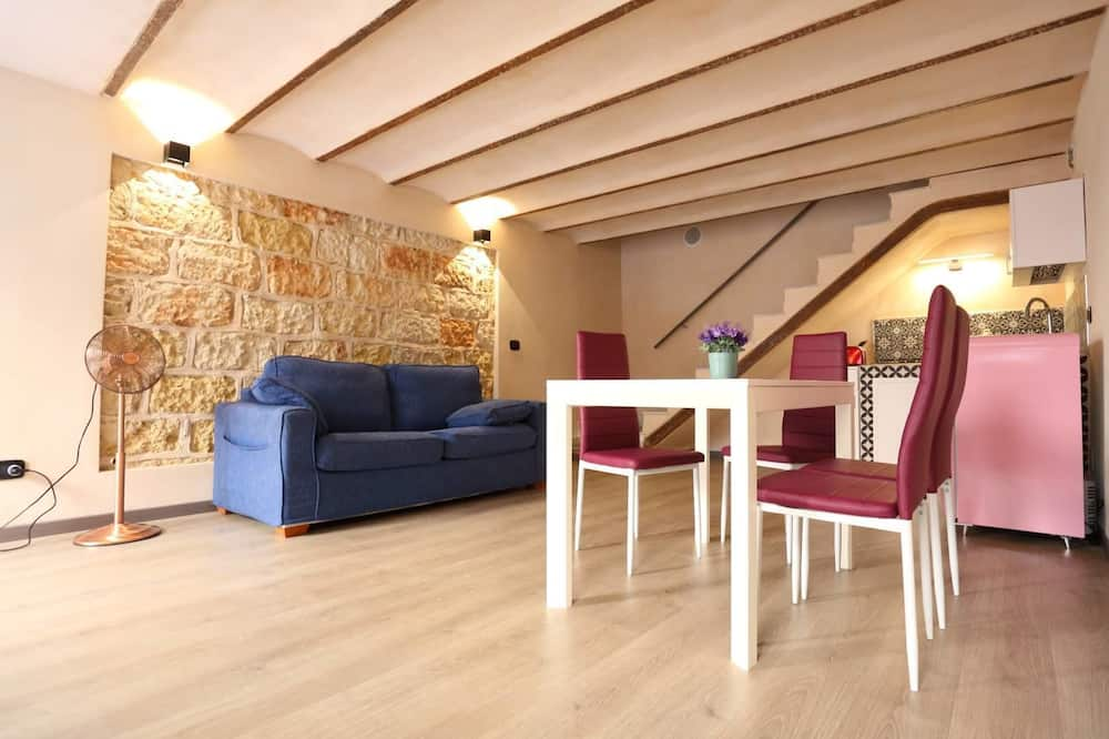 Appartamento Deluxe, 3 camere da letto - Area soggiorno