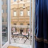 アパートメント 1 ベッドルーム バルコニー (Int. 3) - バルコニー