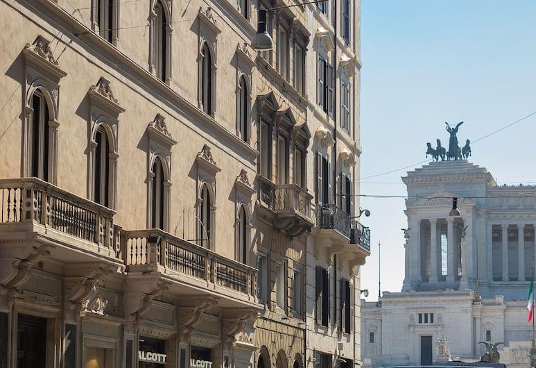 威尼斯驚人廣場套房酒店, 羅馬, 外觀
