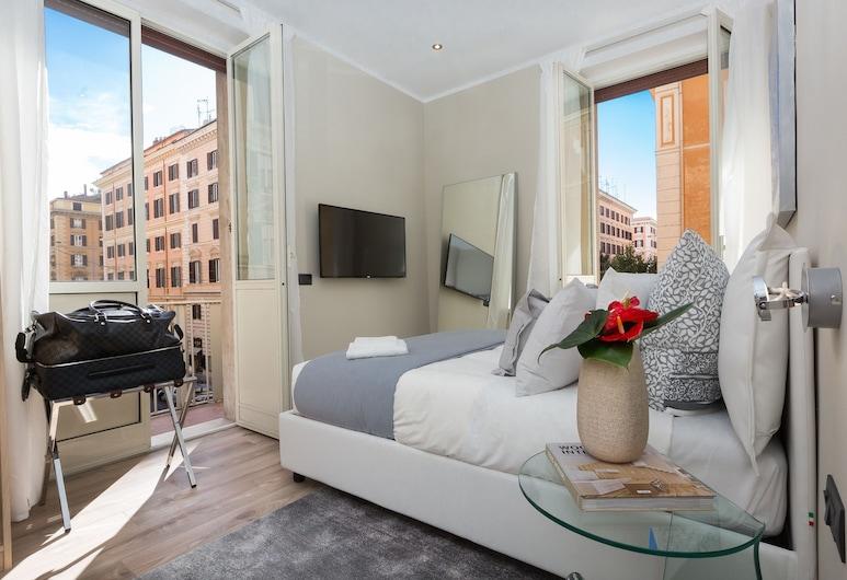 126 gracchi suites, Ρώμη, Deluxe Δίκλινο Δωμάτιο (Double), Μπαλκόνι, Θέα δωματίου