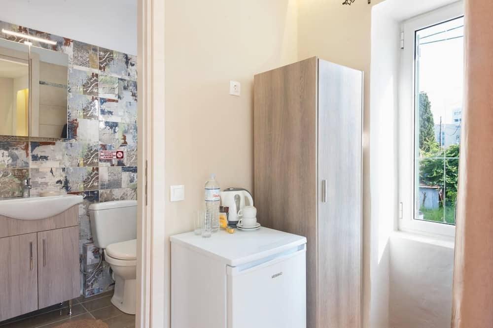 ダブルまたはツインルーム - 小型冷蔵庫