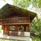 Classic-Ferienhaus, Mehrere Betten, Nichtraucher, Meerblick - Wohnbereich