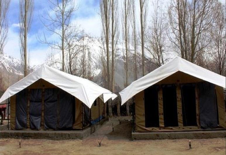 Pangong Escapes Camps, Leh, Deluxe kahetuba, 1 kahevoodi, suitsetamine keelatud, vaade järvele, Vaade toast