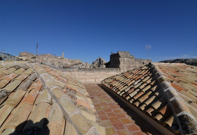 Comera, Matera, View from Hotel
