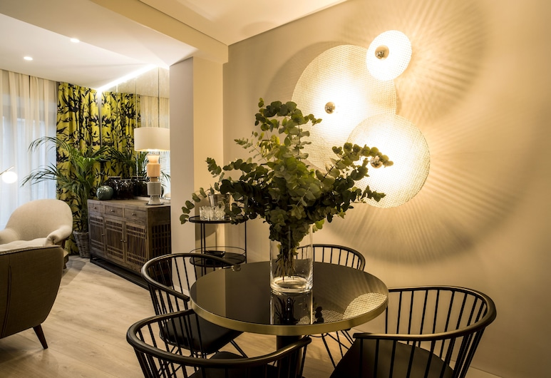 For You Apartments Madrid, Madrid, Appartement Luxe, 2 chambres, vue ville, Coin séjour