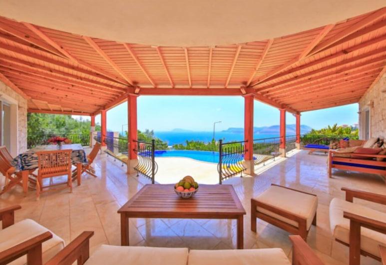Villa Tavla, Kas, Villa, 3 Bedrooms, Sea View, Terrace/Patio