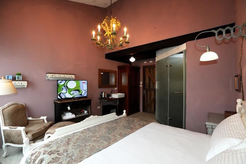 غرفة جالاري مزدوجة - سرير كبير - لغير المدخنين - غرفة نزلاء