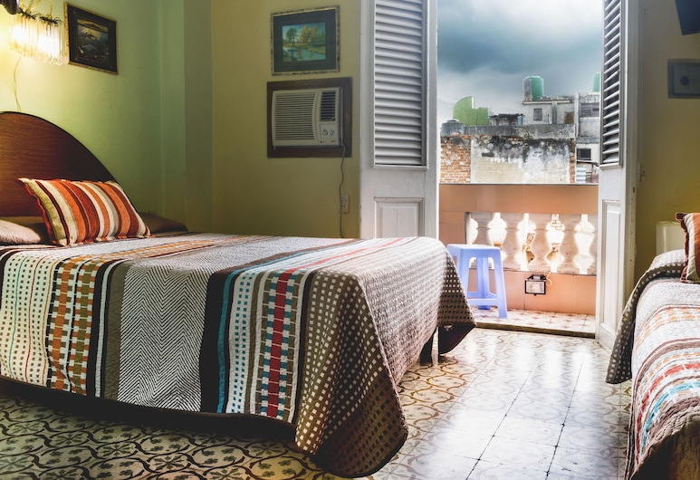 Hostal Balcones Consulado, הוואנה, חדר זוגי או טווין, חדר אורחים