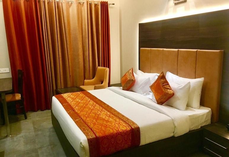 Hotel Abhinav International, Varanasi, Deluxe-Doppelzimmer, 1 Doppelbett, Nichtraucher, Zimmer