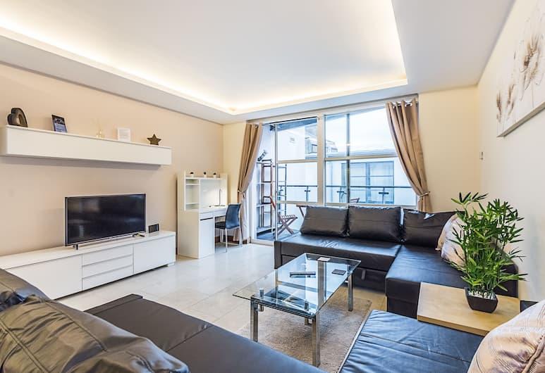 CDP Apartments Bell Street Suite 4, Londra, Deluxe Apart Daire, 2 Çift Kişilik Yatak, Oturma Alanı