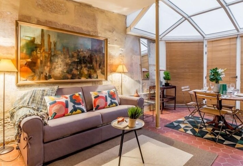 Edgar Suites Saint Germain - Serpente, Paris, Lägenhet Comfort - privat badrum (Saint Germain - Serpente), Rum