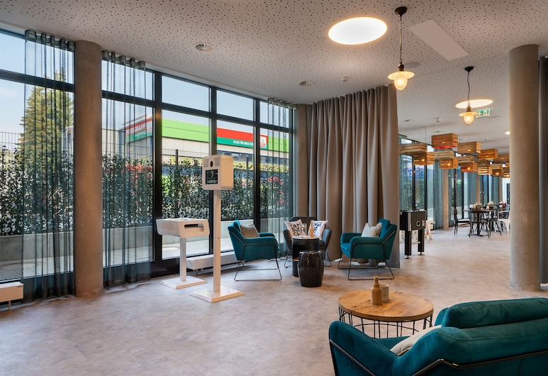 the niu Keg, המבורג, טרקלין המלון