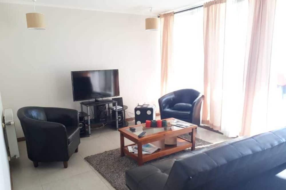 Chambre Familiale - Salle de séjour