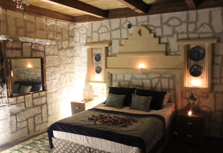 Antik Stone House, Nevşehir, Brudesuite - 1 kingsize-seng, Værelse