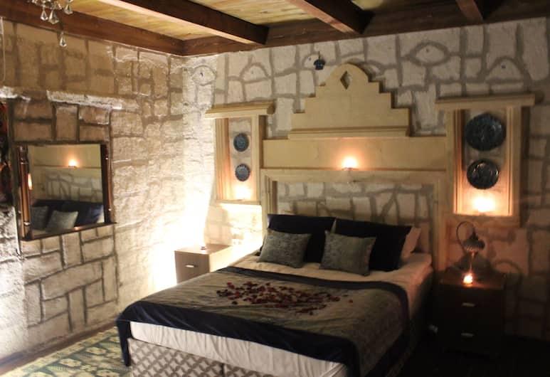 Antik Stone House, Nevsehir, Nászutas lakosztály, 1 king (extra méretű) franciaágy, Vendégszoba