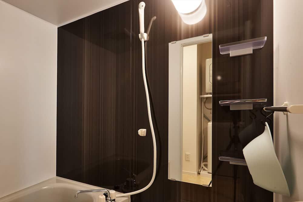 Apartmán, nefajčiarska izba, kuchyňa - Kúpeľňa