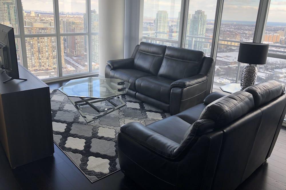 Apartmá, 2 ložnice - Obývací prostor