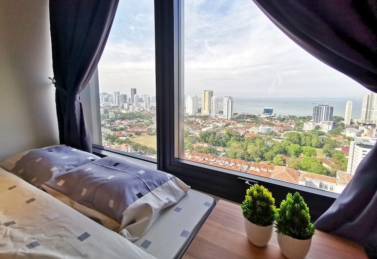 Tropicana 218 Suites, George Town, Štúdiový apartmán typu Deluxe, viacero postelí, výhľad na oceán, Výhľad na pláž/oceán