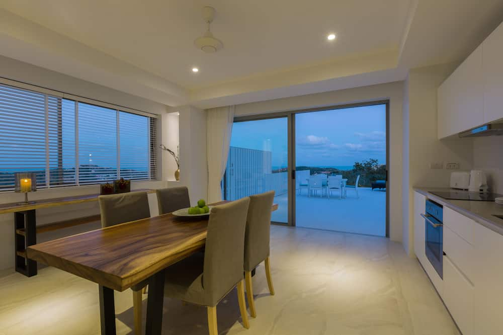 Suite Exclusive, 2 chambres, accès piscine, vue océan - Restauration dans la chambre