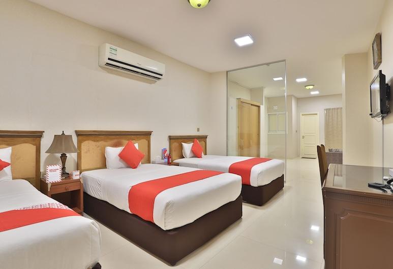 OYO 140 Al Hashemi Hotel, Dubai, Quarto Triplo Standard, Quarto