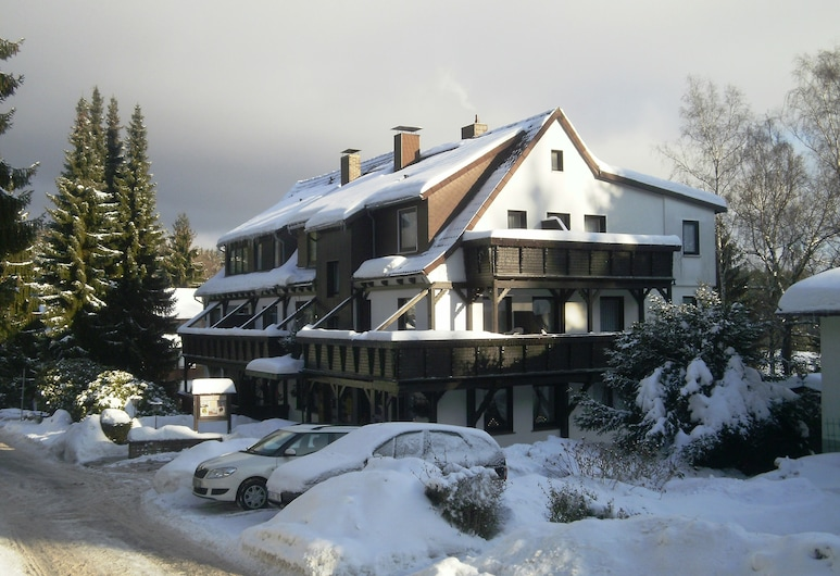 Hotel Ingeburg, Bad Sachsa, Bagian Depan Hotel
