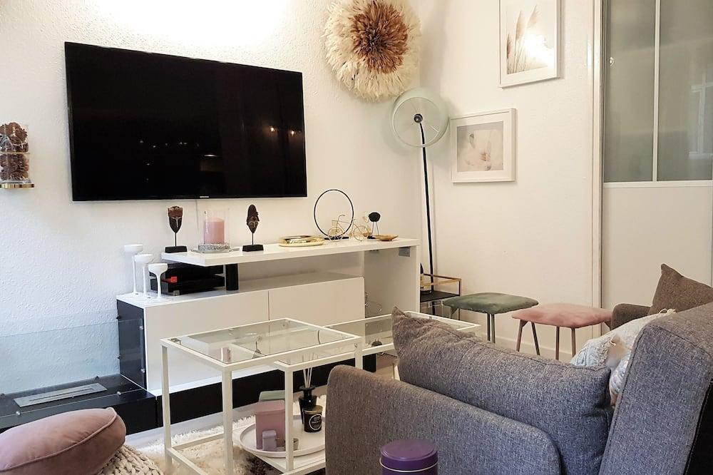 Apartment, 1 Doppelbett, Nichtraucher - Wohnzimmer