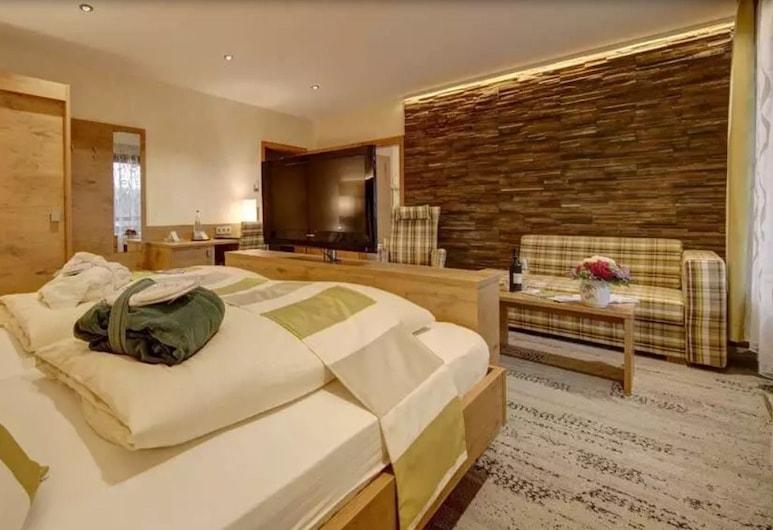 WELLNESS HOTEL TALBLICK, Schoemberg, Habitación doble Deluxe, Habitación