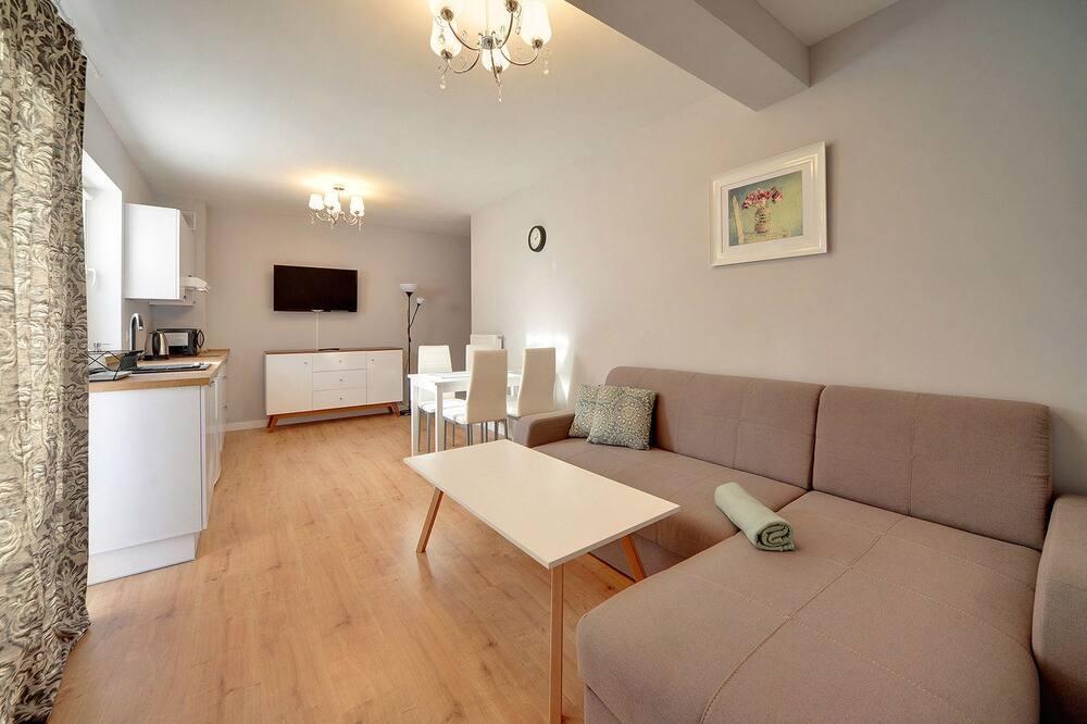Apartamento (3F/9) - Área de Estar