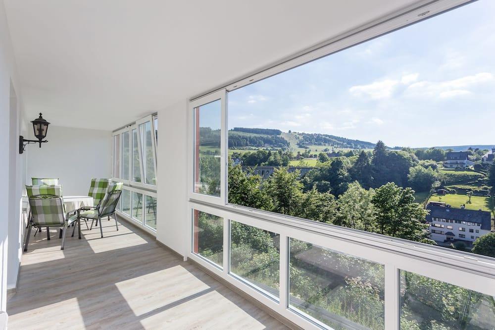 Апартаменти категорії «Комфорт», 2 спальні (incl. EUR 35 Cleaning Fee) - Балкон