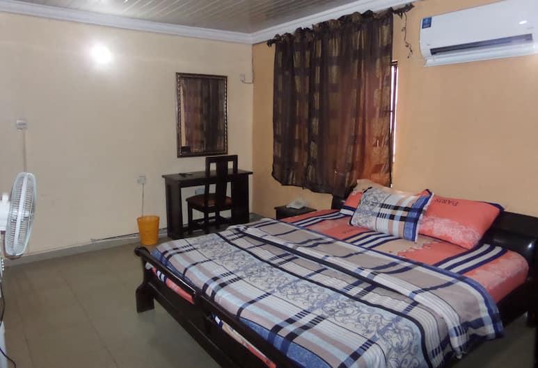 奎斯米克住宅飯店, 拉各斯, 豪華客房, 1 張加大雙人床, 非吸煙房, 客房