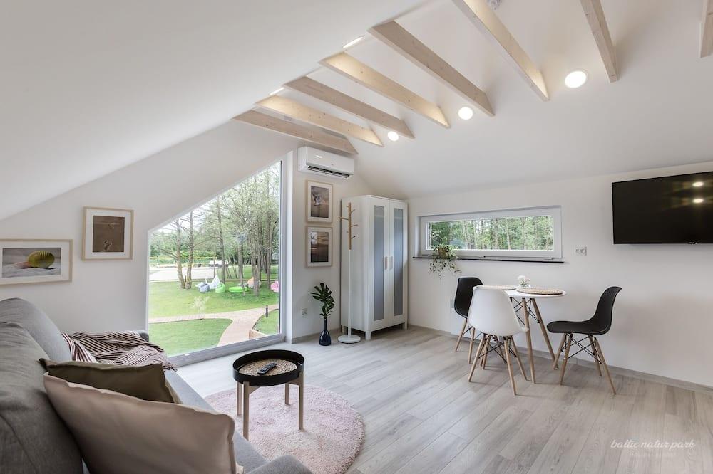 Comfort Apartment (First Floor) - Living Room