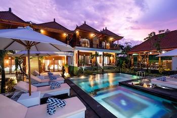 藍夢島倫邦岸塞帕卡餐廳別墅酒店的圖片