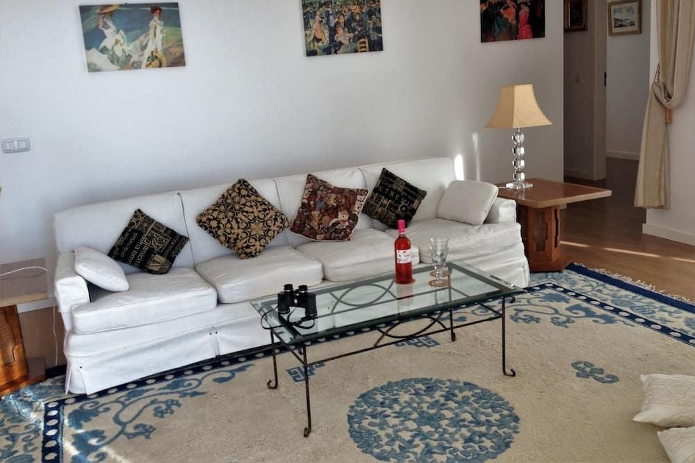 Apartamento, 3 Quartos, Vista Mar - Sala de Estar