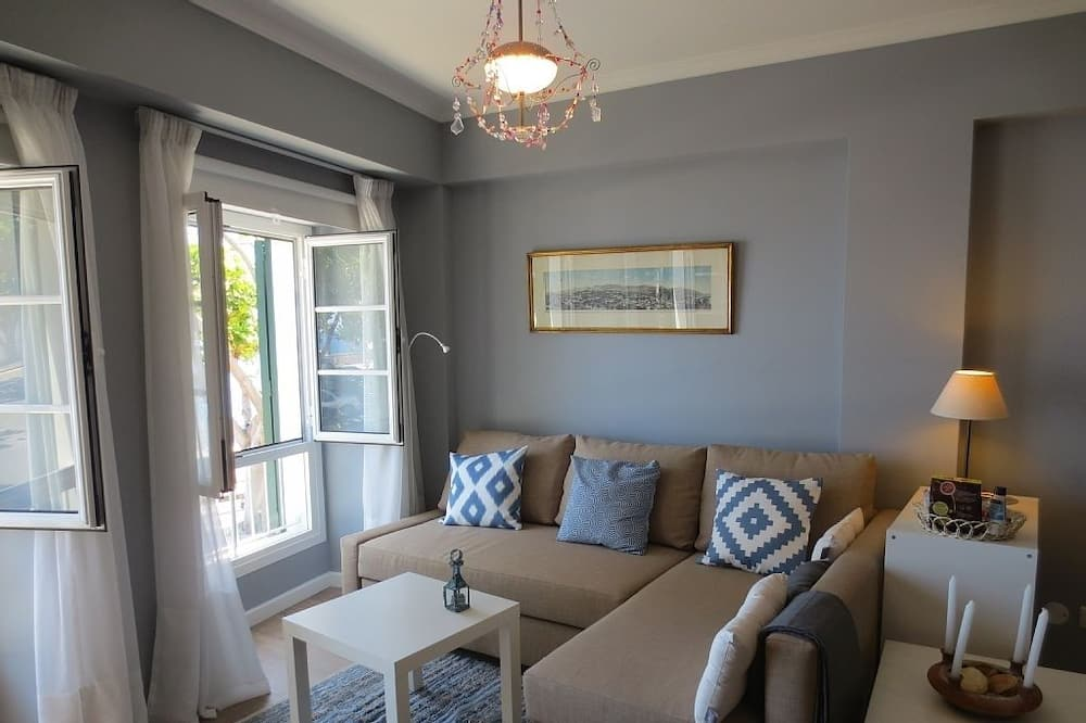 Διαμέρισμα, 1 Υπνοδωμάτιο, Θέα στη Θάλασσα (Barreirinha I) - Καθιστικό