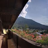 Апартаменти, 2 спальні, з балконом, з видом на гори (Dachgeschoss; excl. 90€ cleaning fee) - Балкон