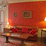 Apartament typu Comfort Suite, Łóżko queen - Salon