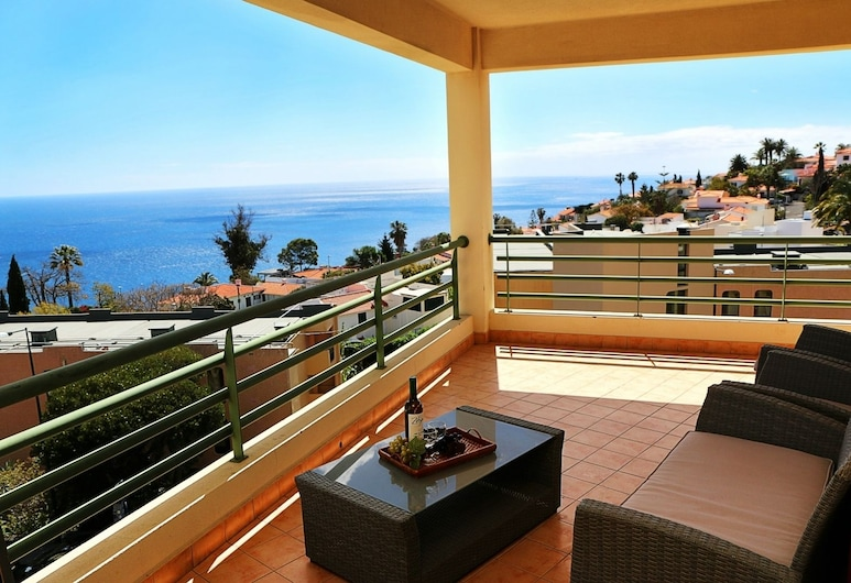 Garajau Terrace II, Santa Krusas, Apartamentai, 2 miegamieji, terasa (Garajau II), Terasa / vidinis kiemas