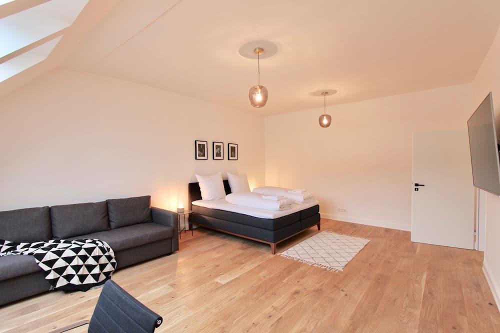 Pokój, Łóżko king i sofa (Zimmer 2) - Salon
