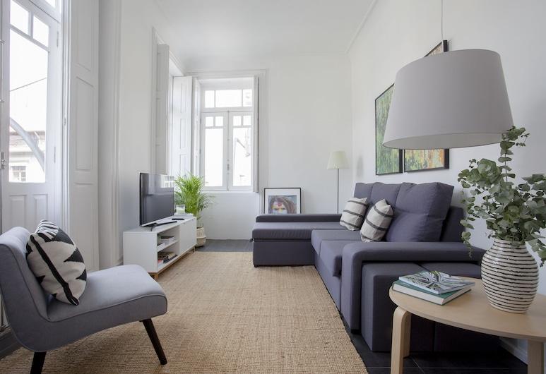 Liiiving - Telégrafo Classic Light Apart, Porto, Apartment, 2 Bedrooms (I), Living Room