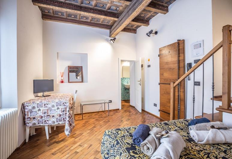 Medieval Studioflat, Bologna, Studiolejlighed, Spisning på værelset