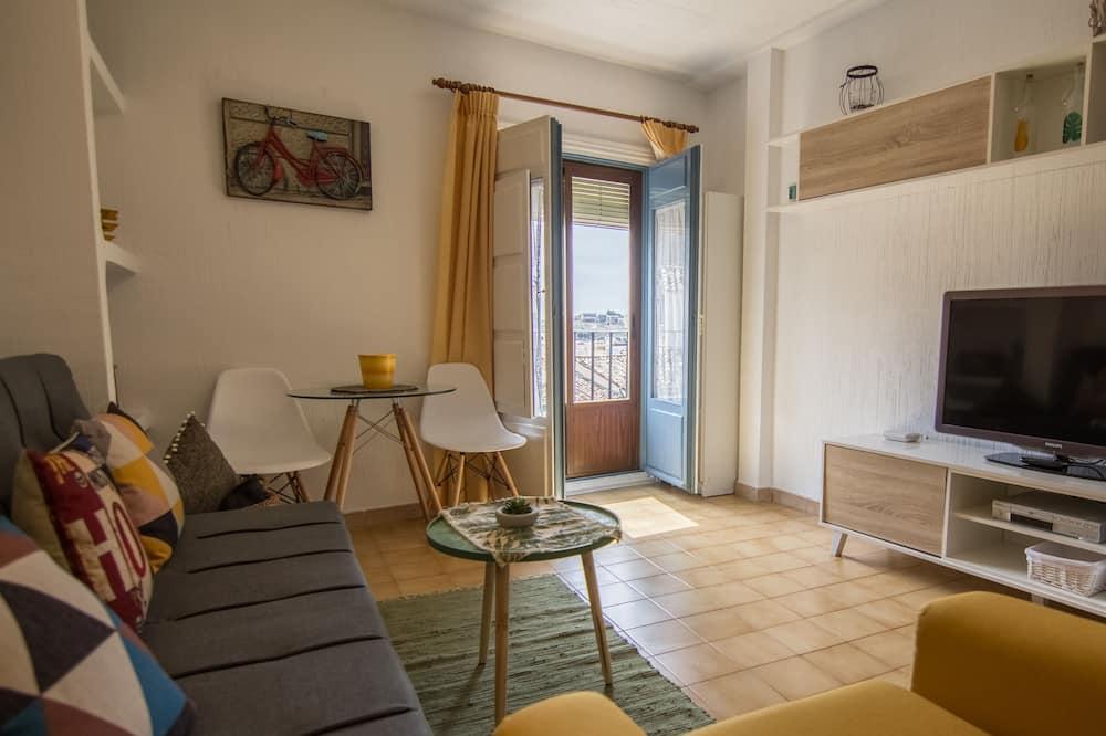 apartman, 1 hálószobával, erkély - Nappali