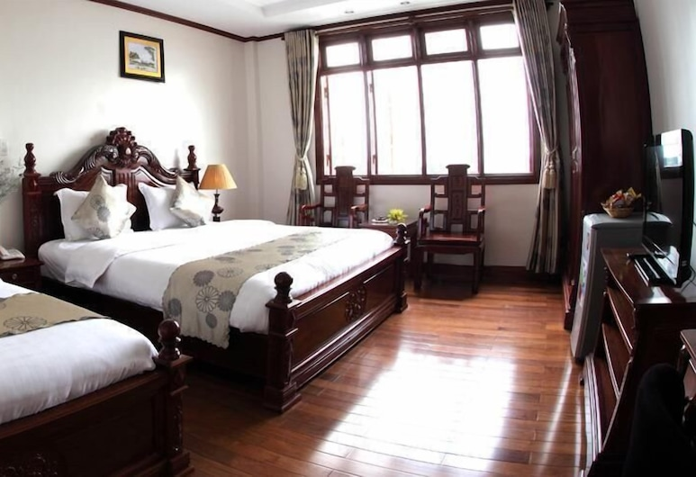 Kally Hotel, Ho Chi Minh City, Family Room, 1 Bedroom, Smoking, City View, Guest Room