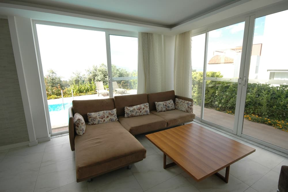 Vila typu Deluxe - Obývačka