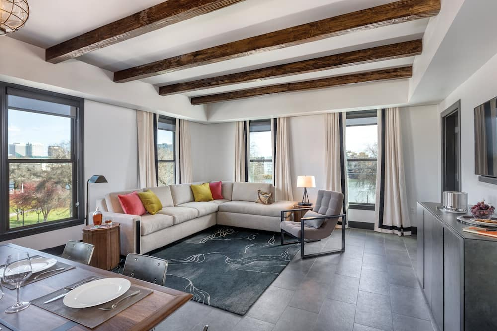 Presidential-Apartment, Mehrere Betten, Nichtraucher, Küche (2 Bedrooms) - Wohnzimmer