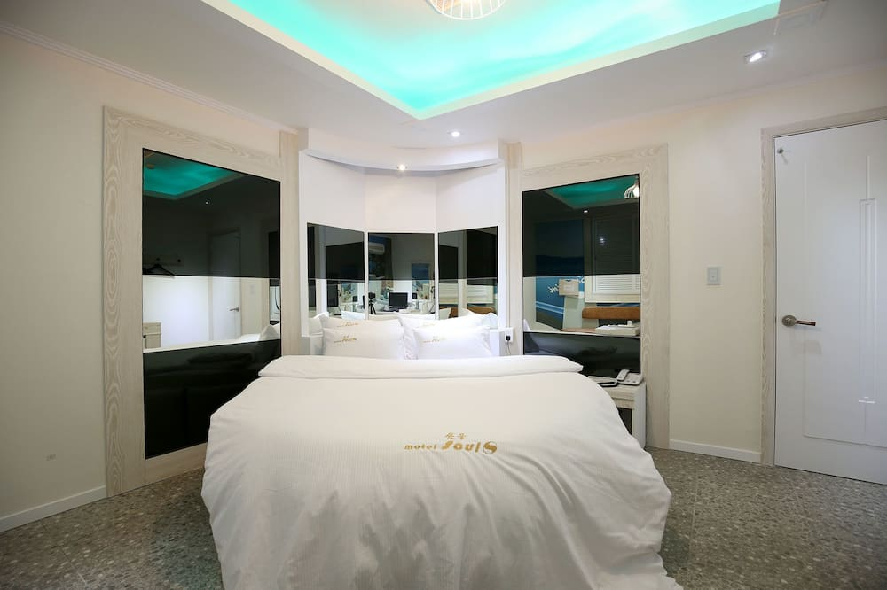Basic Double Room (Round Bed) - Bilik Tamu