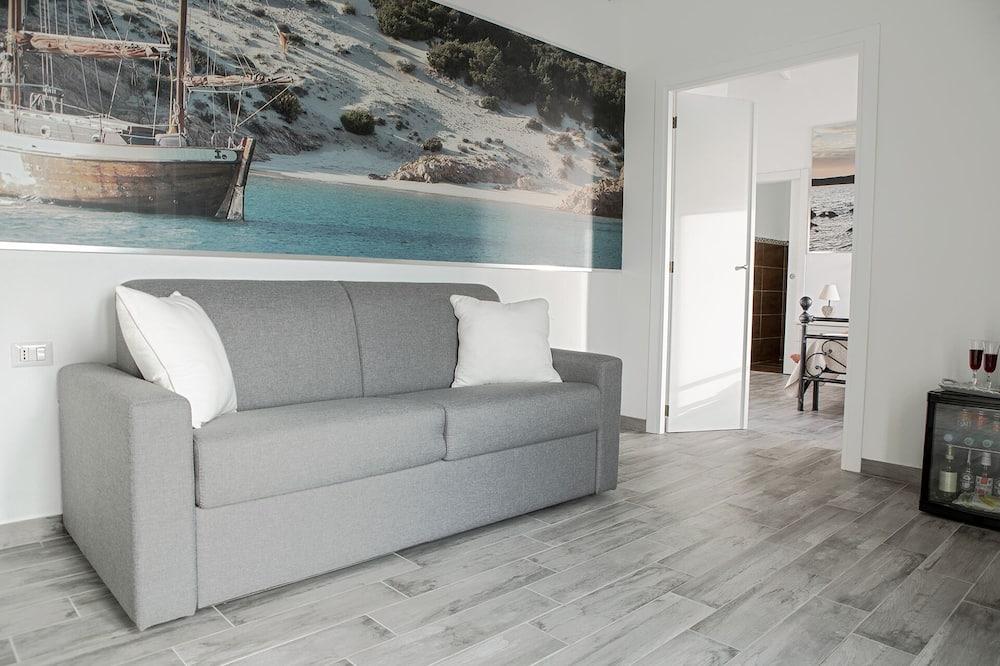Apartmán typu Royal, terasa - Obývacie priestory
