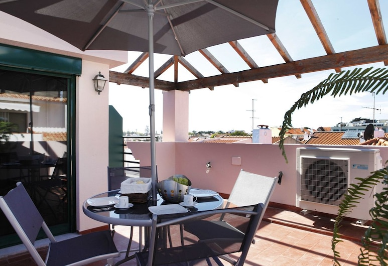 Wondrous Terrace Apartment in Cascais, Cascais, Apartment, 1 Bedroom, Terrace/Patio