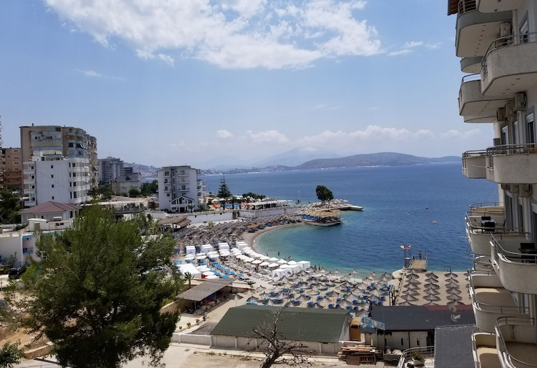 Blue Residence, Sarandë, Duplex Apartment with Sea View, Вид з балкона